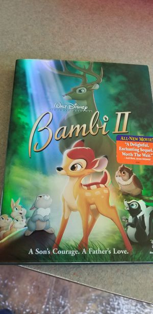 Bambi II DVD for Sale in Clayton, NC