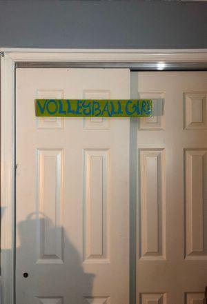 """Volleyball Girl"" Room Decor for Sale in Hampton, VA"