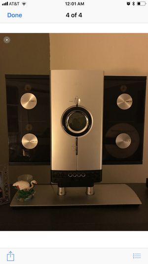 CD player with speakers for Sale in Brooklyn, NY
