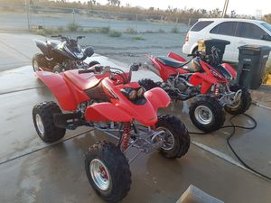 2004 Sportrax TRX 400ex for sale$2500 OBO. for Sale in Phelan, CA