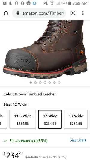 Timberland anti fatigue waterproof boots for Sale in San Diego, CA