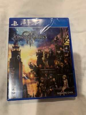 Kingdom Hearts 3 III PS4 Brand New Sealed for Sale in Chicago, IL