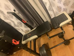 Bench weights set for Sale in Queens, NY