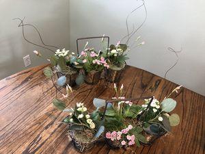 Artificial flower pots for Sale in Palmdale, CA