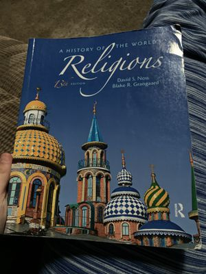 World Religion 13 edition for Sale in Stockton, CA