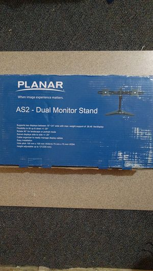 Dual Monitor Stand NEW for Sale in Silver Spring, MD