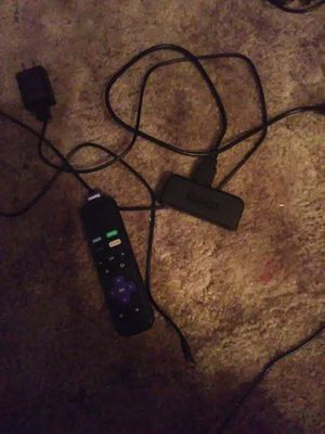 Roku with remote for Sale in Greenmount, MD
