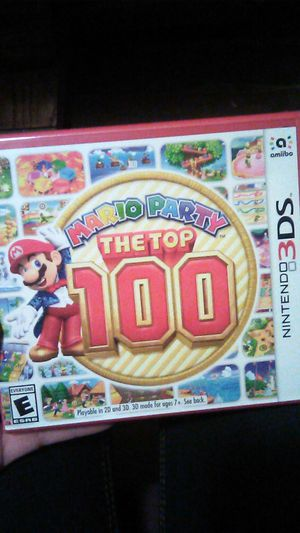 Mario party the top 100 NITENDO 3DS video game for Sale in Bakersfield, CA