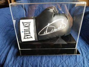Canelo Alvarez Boxing Glove with show case box for Sale in Modesto, CA