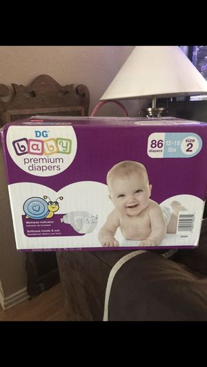 Diapers box size 2 unopened for Sale in Hockley, TX