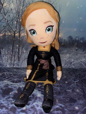 """Disney Frozen 2 Anna Doll 16"""" plush for Sale in Bellflower, CA"""