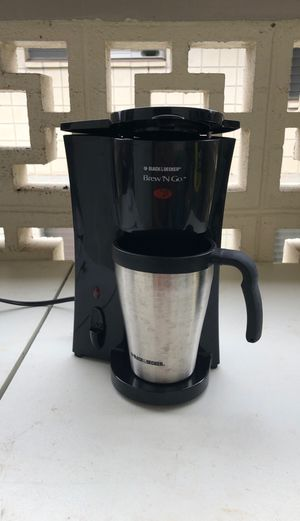 Black & Decker Brew 'N Go Coffee Maker for Sale in Honolulu, HI