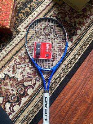 "HEAD Ti. CONQUEST TENNIS RACQUET RACKET STRUNG 4 3/8"" NEW +WILSON GRIP TAPE for Sale in Houston, TX"