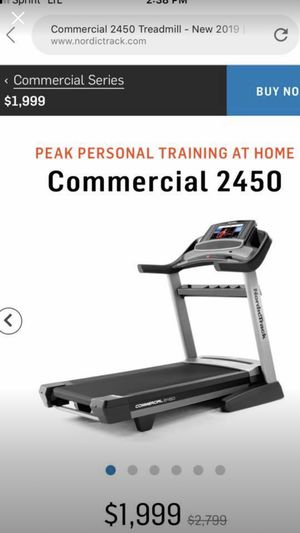 NordicTrack Treadmill Commercial grade for Sale in South Holland, IL