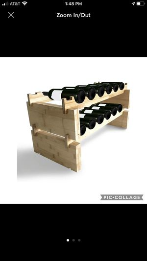 Wooden Wine Rack, for Sale in Burnsville, MN