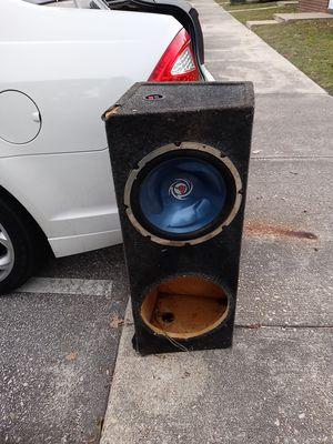 Speaker box 1 12 for Sale in Fayetteville, NC