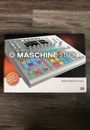 Maschine Studio open box, includes Decksaver dust cover, software, Komplete Select, + extra usb cable/power supply. for Sale in Austin, TX