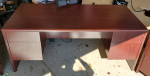Large desk for your home or office for Sale in Rancho Cucamonga, CA