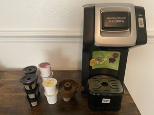 Hamilton beach coffee maker, compatible with k-cup for Sale in Belle Isle, FL