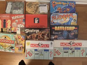 Board games the lot or by each for Sale in Orange Park, FL