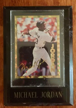 (2) Baseball Card Plaques for Sale in Sebring, FL