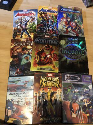 Marvel super hero movies cartoons for Sale in Riverside, CA