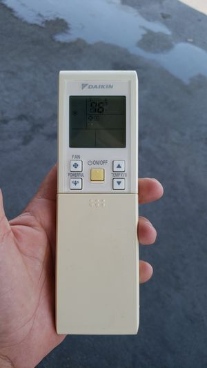 Air conditioning remote DAIKIN for Sale, used for sale  Los Angeles, CA