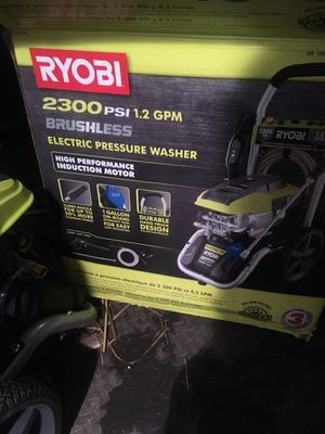 RYOBI 2300psi electric pressure washer for Sale in Portland, OR