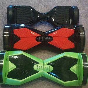 I got a slime green hoverboard with 8 inch wheels as bluetooth for sale $475 obo for Sale in Atlanta, GA