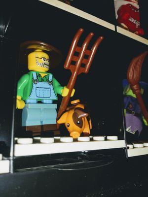 LEGO FARMER WITH LEGO PIG MINIFIGURES for Sale in San Diego, CA