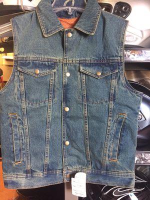 New denim motorcycle club style vest $75 for Sale in Norwalk, CA