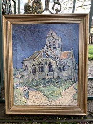 Van Gogh canvas framed print for Sale in Portland, OR