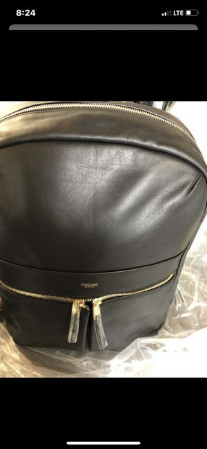 Brand new Knomo Beaux leather laptop backpack for Sale in Riverside, CA