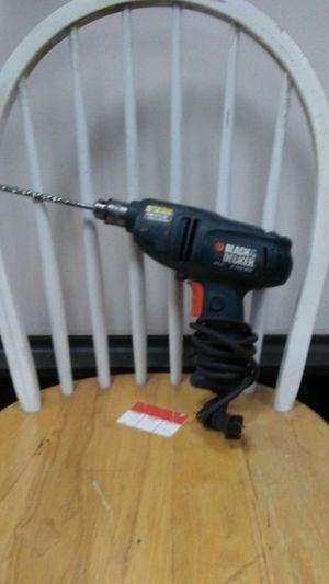 Black & Decker Drill 4.0A 4 AMP MOTOR for Sale in Hyattsville, MD