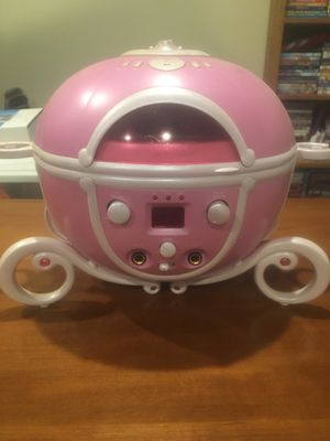 Cinderella stagecoach CD player for Sale in Saugus, MA
