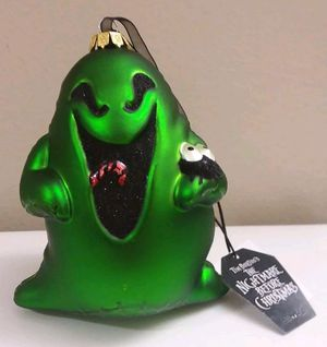 Disney Parks Nightmare Before Christmas Oogie Boogie Christmas Glass Ornament for Sale in Spring Valley, CA