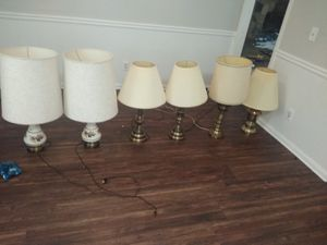 Misc lamps for Sale in Snellville, GA