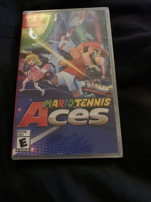 Mario Tennis Aces NEW NINTENDO SWITCH for Sale in Chevy Chase, MD