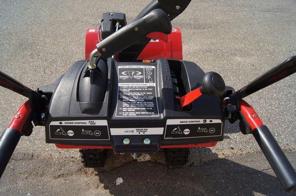 "Troy Bilt 26"" 243cc Gasoline Snowblower"