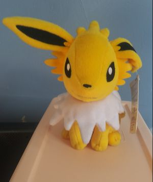 Tomy Jolteon Pokemon plushie for Sale in Chicago, IL