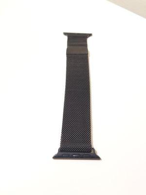 Black Steel Mesh 42mm Apple Watch Strap for Sale in Minneapolis, MN