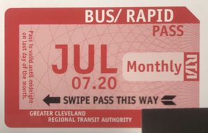 RTA MONTHLY PASS for Sale in Cleveland, OH