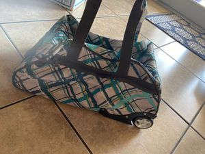 Rolling travel duffle bag for Sale in Southwest Ranches, FL