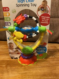 High Chair Spinning Baby Toy for Sale in Dallas,  TX