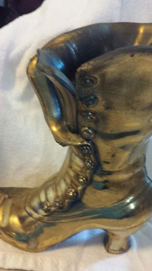 Antique Brass Victorian Boot for Sale in Grand Blanc, MI