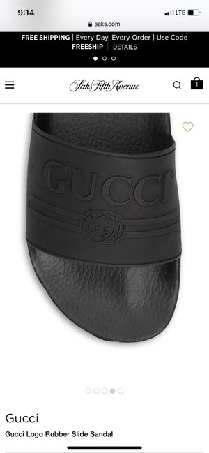 Gucci slides for Sale in Wallis, TX