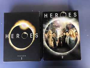Heroes Season 1 & 2 DVD for Sale in La Mirada, CA