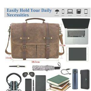 Leather Vintage Messenger Bag for Sale in Santa Monica, CA