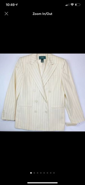 Ralph Lauren Blazer Size 10 Wool NWT for Sale, used for sale  Shiremanstown, PA