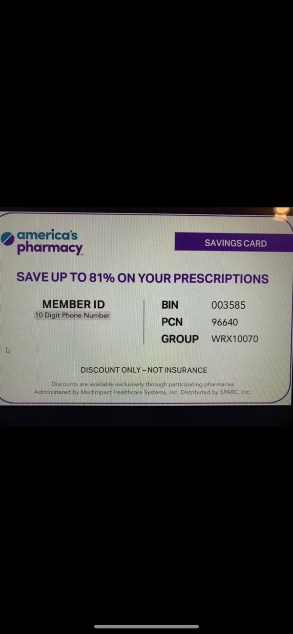 Free Prescription Discount Card, Better than Goodrx. Show this card to your pharmacists for great savings. Hurry up for a limited time only.
